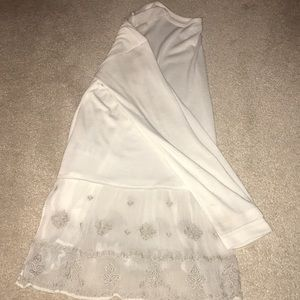 LIKE NEW Urban Outfitters top with sheer bottom